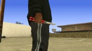 Butterfly Knife (Red) for GTA San Andreas miniature 2