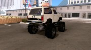 Ford Bronco Monster Truck 1985 for GTA San Andreas miniature 4