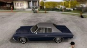 Chevrolet Impala 1972 for GTA San Andreas miniature 2