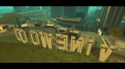 GTA V Vinewood Sign v3.0 для GTA San Andreas миниатюра 3