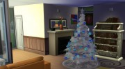 4 Recoloured Holiday Christmas Tree Set for Sims 4 miniature 5