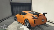 Nissan 370z v2.0 for GTA 5 miniature 7