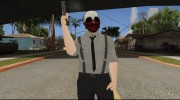 Payday 2 Wolf Reservoir Dogs (Fan Made) для GTA San Andreas миниатюра 2