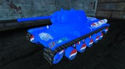 Шкурка для КВ-13 PEPSI для World Of Tanks миниатюра 1