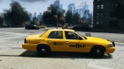 Ford Crown Victoria 2003 v.2 Taxi для GTA 4 миниатюра 5