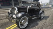 Ford T 1927 Roadster for GTA 5 miniature 4
