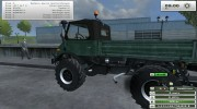 Unimog U 84 406 Series и Trailer v 1.1 Forest for Farming Simulator 2013 miniature 3
