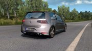 Volkswagen Golf R-Line for Euro Truck Simulator 2 miniature 2