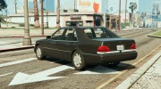 Mercedes-Benz S600 (W140) for GTA 5 miniature 2