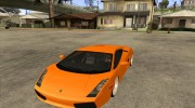 Lamborghini Gallardo White & Pink for GTA San Andreas miniature 1