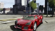 Gumpert Apollo Sport для GTA 4 миниатюра 1
