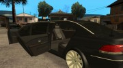 BMW E66-7 Series Limousine from Brazil для GTA San Andreas миниатюра 5