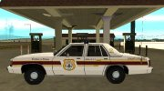 Ford LTD Crown Victoria 1991 New Castle County Police for GTA San Andreas miniature 6