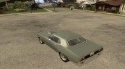 Plymouth Hemi Cuda for GTA San Andreas miniature 3