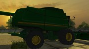 John Deere 9770 STS для Farming Simulator 2013 миниатюра 3