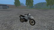 Kawasaki KLR650 for Farming Simulator 2015 miniature 2
