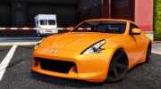 Nissan 370z v2.0 for GTA 5 miniature 1