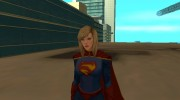 Supergirl Legendary from DC Comics Legends для GTA San Andreas миниатюра 1