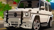 Mercedes-Benz G65 2013 Hamann Body для GTA San Andreas миниатюра 1