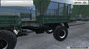 Unimog U 84 406 Series и Trailer v 1.1 Forest for Farming Simulator 2013 miniature 15