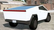 Tesla Cybertruck 2019 for BeamNG.Drive miniature 3