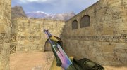 XM1014 (M4 Super 90) Северное сияние for Counter Strike 1.6 miniature 3