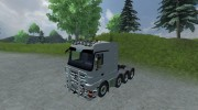 Mercedes-Benz Actros 4160 для Farming Simulator 2013 миниатюра 1