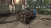 МАЗ 5434 SV «Лесовоз» v1.2 for Spintires 2014 miniature 12