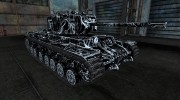 КВ-3  TRON skin for World Of Tanks miniature 5