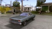 Plymouth Roadrunner 383 для GTA San Andreas миниатюра 1