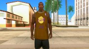Форма БК Los Angeles Lakers for GTA San Andreas miniature 1