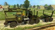 Урал 4320 Лесовоз for Farming Simulator 2015 miniature 2