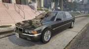 BMW L7 - 750IL E38 for GTA 5 miniature 1