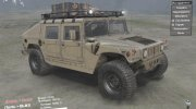 Hummer H1 Military for Spintires 2014 miniature 1