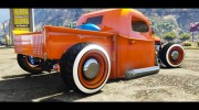 1936 Ford Pickup Hotrod Style for GTA 5 miniature 5