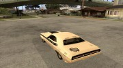 Dodge Challenger Speed 1971 for GTA San Andreas miniature 3