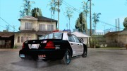 Ford Crown Victoria San Andreas State Patrol для GTA San Andreas миниатюра 4