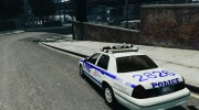 Ford Crown Victoria NYPD for GTA 4 miniature 3