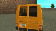 RENAULT TRAFIC T1000D MINIBUS for GTA San Andreas miniature 3