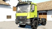 Mercedes-Benz Arocs AS 4x4 for Farming Simulator 2017 miniature 1