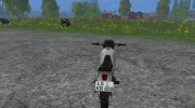 Kawasaki KLR650 for Farming Simulator 2015 miniature 5