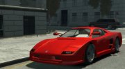 GTA V Turismo Classic With HQ Interior for GTA 4 miniature 1