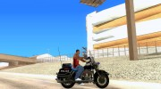 Harley Davidson CHP (Beta) for GTA San Andreas miniature 5