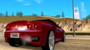 Ferrari 360 Spider for GTA San Andreas miniature 4