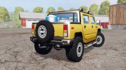 Hummer H2 SUT 2005 for Farming Simulator 2015 miniature 3