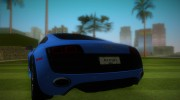 Audi R8 5.2 FSI for GTA Vice City miniature 4