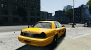 Ford Crown Victoria 2003 v.2 Taxi для GTA 4 миниатюра 4