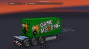 Mod GameModding trailer by Vexillum v.2.0 для Euro Truck Simulator 2 миниатюра 6