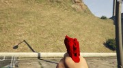 Desert Eagle Crimson Edition for GTA 5 miniature 3