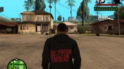 Толстовка с логотипом Hollywood Undead for GTA San Andreas miniature 2